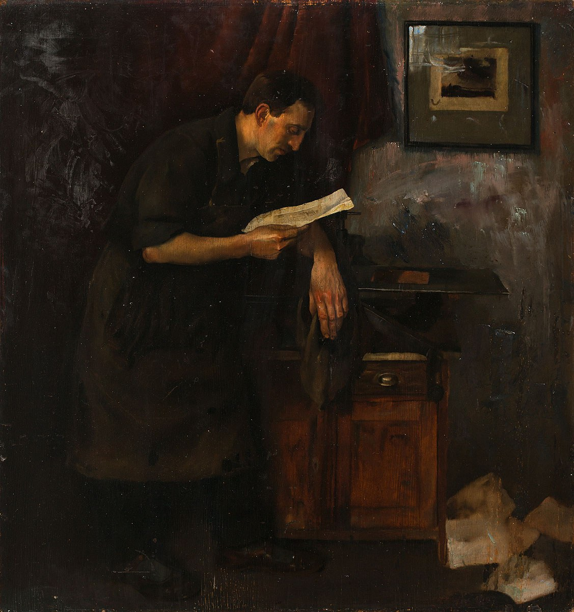 Edward Karniej, List, 1936