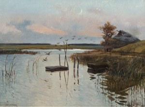 Józef Chełmoński, Kaczki nad wodą, 1886