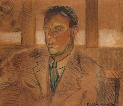 Rafał Malczewski, Autoportret, ok. 1925