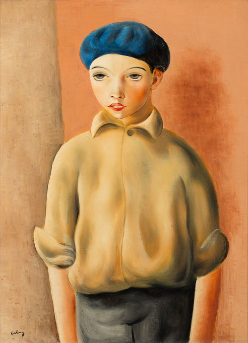 Mojżesz Kisling, Portret chłopca, ok. 1930
