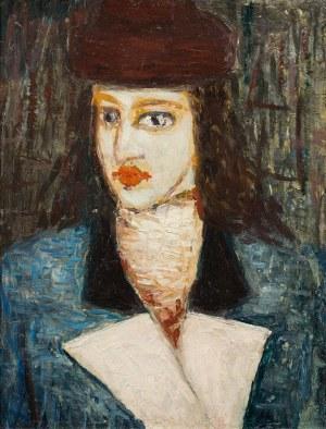 Jerzy Nowosielski, Portret kobiety, ok. 1945