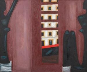 Jerzy Nowosielski, Czarny akt w oknie, 1987