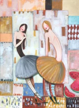 Berenika Korecka-Sowińska, Baletnice z arbuzami, 2019