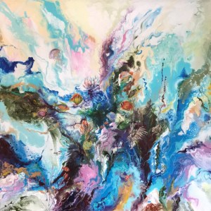 Patrycja Kruszyńska-Mikulska, Color of water III, 2019