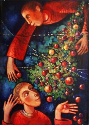 GAŁUSTOW EDWARD, Oczekiwanie Świąt