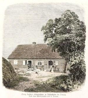 MOKRY DWÓR k. Gdańska. Dom rodzinny Johanna Georga Adama Forstera (1754-1794), ...