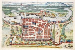 SZCZECIN. Perspektywiczny plan miasta – niezwykle rzadko spotykana edycja, ...