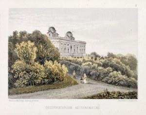 WARSZAWA. Obserwatorium astronomiczne, lit. Jean Jacottet i Charles Riviere, ...