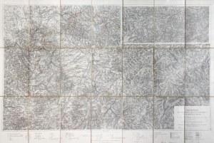 BIELSKO-BIAŁA. Turystyczna mapa Beskidów, oprac. Wilhelm Schlesinger, wyd. R. ...