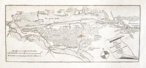 BYDGOSZCZ. Mapa przedstawiająca cały bieg Kanału Bydgoskiego (od Nakła n. ...