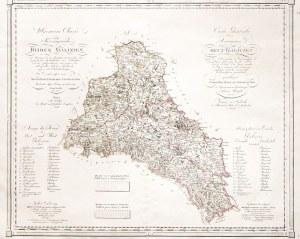 GALICJA. Mapa całego zaboru austriackiego, czyli Galicji i Lodomerii oraz ...