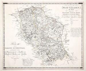 GALICJA ZACHODNIA. Mapa Galicji Zachodniej (tzw. Nowej Galicji – jednostka ...