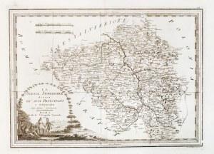 GÓRNY ŚLĄSK. Mapa Górnego Śląska, ryt. i wyd. włoski malarz i rytownik Giovanni ...