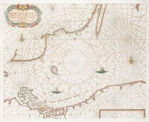 KASZUBY, POMORZE, MORZE BAŁTYCKIE Mapa wybrzeży Bałtyku – obejmuje część Danii, ...
