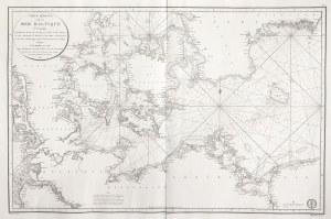 MORZE BAŁTYCKIE Mapa zachodnich wybrzeży Bałtyku – obejmuje część Danii, ...