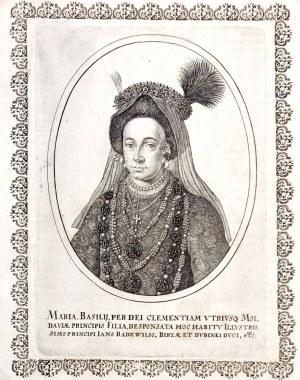 LITWA – MARIA RADZIWIŁŁOWA z Lupulów zwana Wołoszką (ok. 1625-1660), córka ...