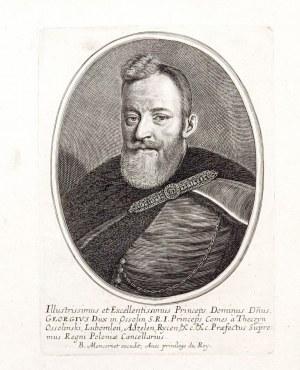 LWÓW, WROCŁAW – JERZY OSSOLIŃSKI herbu Topór (1595-1650), ryt. Balthasar ...