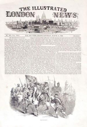 WIELKOPOLSKA, RZECZPOSPOLITA KRAKOWSKA. The Illustrated London News, 14 III ...