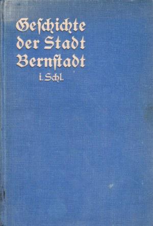 BIERUTÓW. Friedrich, Hermann, Geschichte der Stadt Bernstadt 1266-1935, tyt. ...