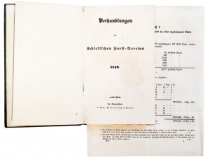 WROCŁAW, BUDZICZ, LEGNICA. Verhandlungen des Schlesischen Forstvereins, wyd. ...