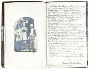 SULECHÓW. Sztambuch należący do Ingeborgi Hoffmann, w III Rzeszy podejrzanej o ...