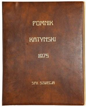 KATYŃ (ros. Катынь), SZTOKHOLM. Album / 1 / wydany z okazji odsłonięcia i ...