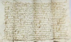 LEGNICA. Dokument wystawiony przez sąd miasta Legnica w składzie: sędzia ...
