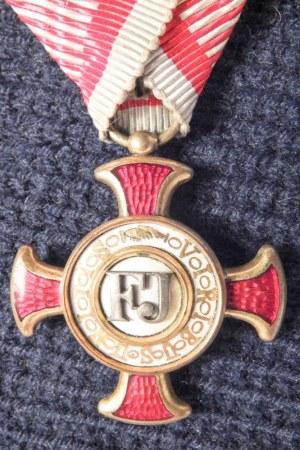 AUSTRIA (AUSTRO-WĘGRY). Złoty Krzyż Zasługi Cywilnej (niem. Goldenes ...