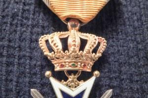 HOLANDIA. Order Oranje-Nassau (holend. De Orde van Oranje-Nassau), wersja ...