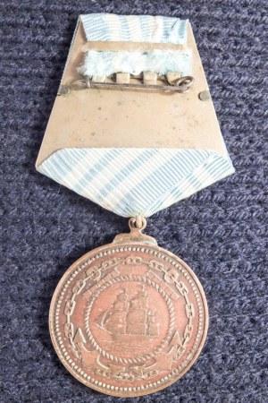 ROSJA I ZWIĄZEK SOWIECKI. Medal Nachimowa (ros. Медаль Нахимова); medal ...