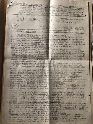 Co wiemy o prześladowanych, Więźniowie polityczni, Poznań, listopad 1982