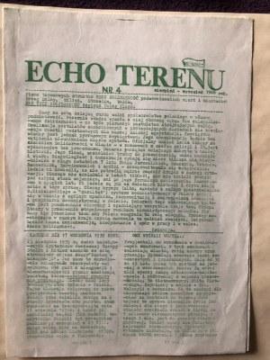 Echo terenu, nr 4, styczeń-wrzesień 1988