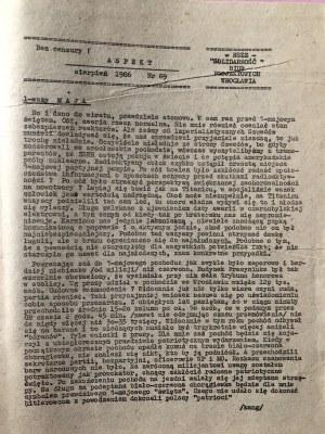Aspekt, nr 69, sierpień 1986