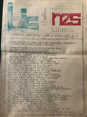 BiS NZS SOLIDARNOŚĆ, nr 1/39, Poznań 1983