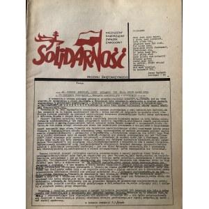 Kolekcja Solidarność - prasa, ulotki, druki