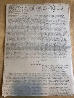 Przegląd Myśli Niezależnej, Nr 6, Wrocław, grudzień 1983