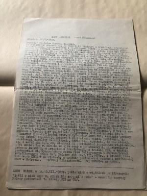 List Andrzeja Milczanowskiego, Braniewo, 10 września 1983