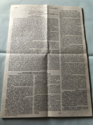 Solidarność, Tygodnik Mazowsze, Nr 37, 16 grudnia 1982