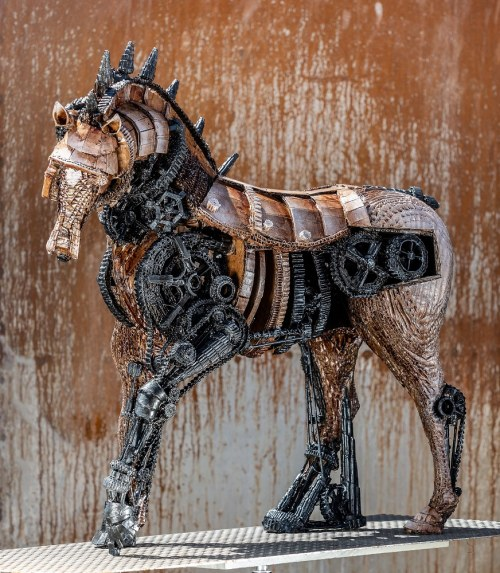 Kamila Karst, Equus ex machina, 2019
