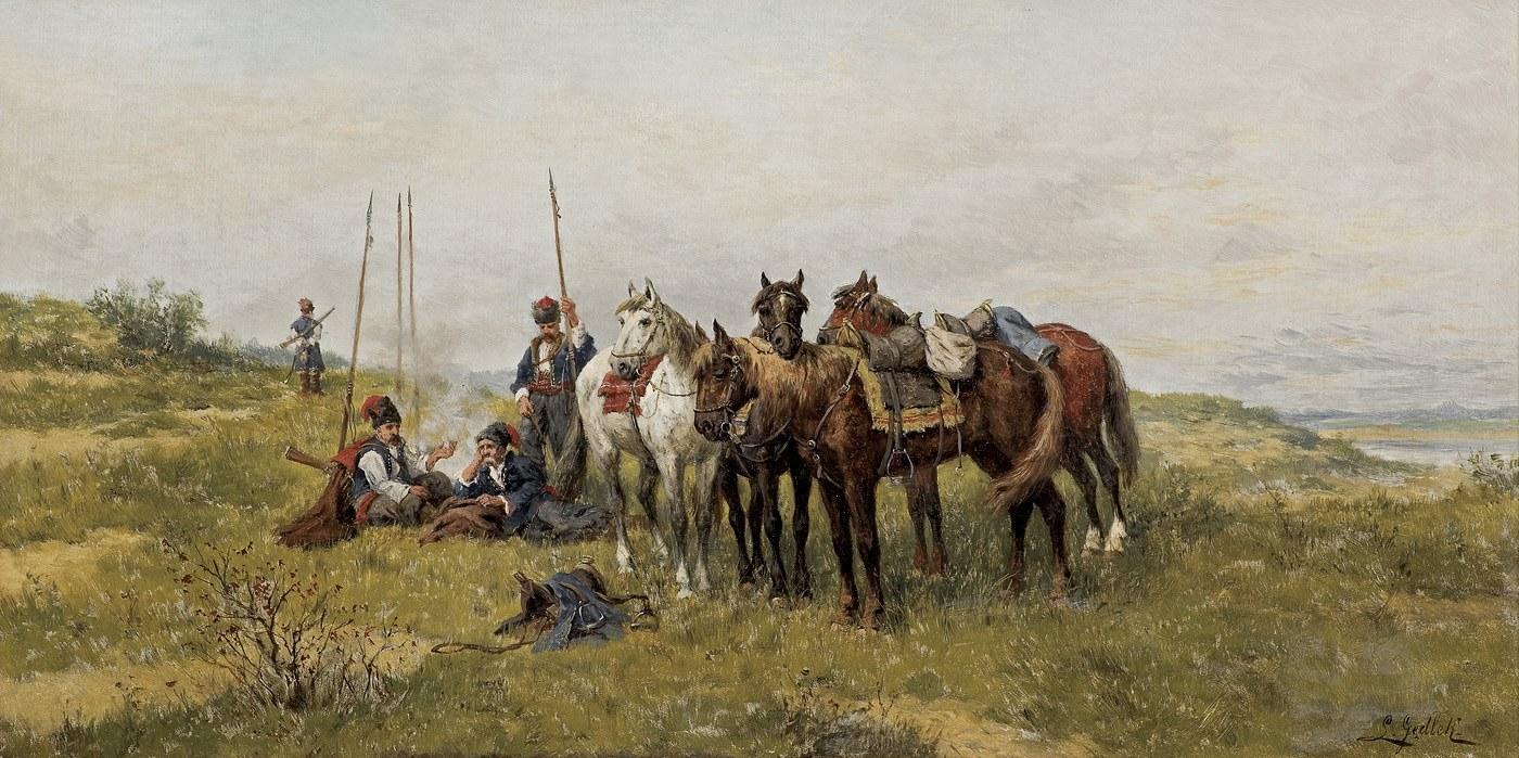 Gędłek Ludwik, CZUJKA KOZACKA, OK. 1880