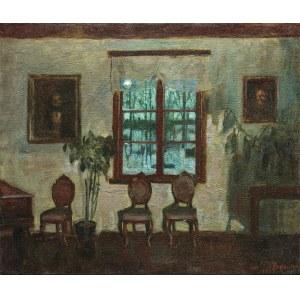 Żukowski Stanisław, WNĘTRZE W KSIĘŻYCOWEJ POŚWIACIE, 1932