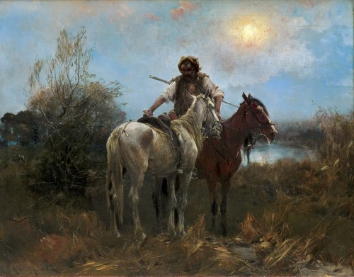 Wierusz-Kowalski Alfred, W OCZEKIWANIU, OK. 1900