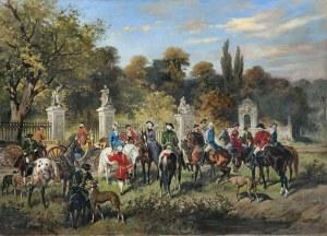 Kossak Juliusz, PO POLOWANIU, 1879