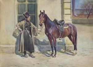 Adamczewski Marian (Mariusz), CZERKIES Z KONIEM, 1914