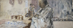"""Malczewski Jacek, SZKIC DO TRYPTYKU """"MOJE ŻYCIE"""", 1911-1912"""