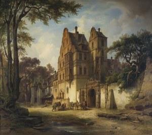 Kirchner Albert Emil, PRZED STARYM ZAMKIEM, 1850