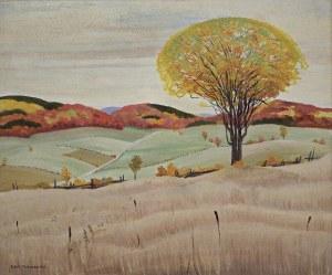 Malczewski Rafał, SAMOTNY WIĄZ (THE ELM TREE), 1947