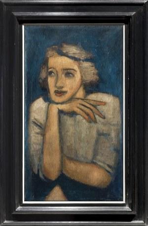 Nowosielski Jerzy, PORTRET KOBIETY, 1946-1947