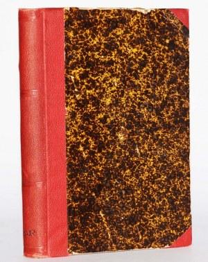 PŁACZKOWSKI WINCENTY - PAMIĘTNIKI PORUCZNIKA DAWNEJ GWARDYI CESARSKOFRANCUZKIEJ SPISANE W ROKU 1845.
