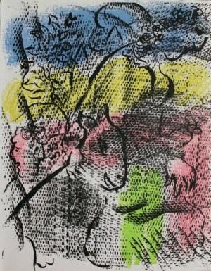 """Marc Chagall (1887-1985), Kobieta z kozą(""""XXe Siècle"""" no 34, 1970, Mourlot #608)"""